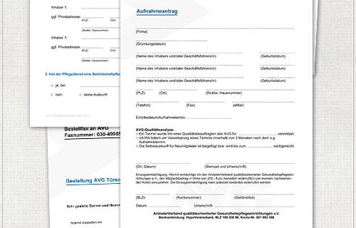 Design der beschreibbaren PDF-Formulare