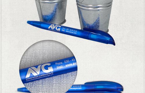 Kugelschreiber mit individueller Beschriftung