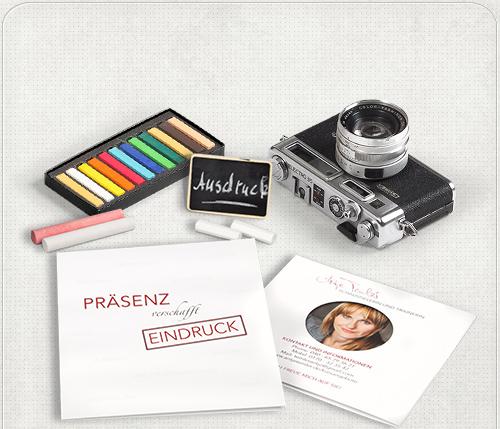 Foto vom Flyer-Design von Headshot-Berlin für Antje Temlers Coaching