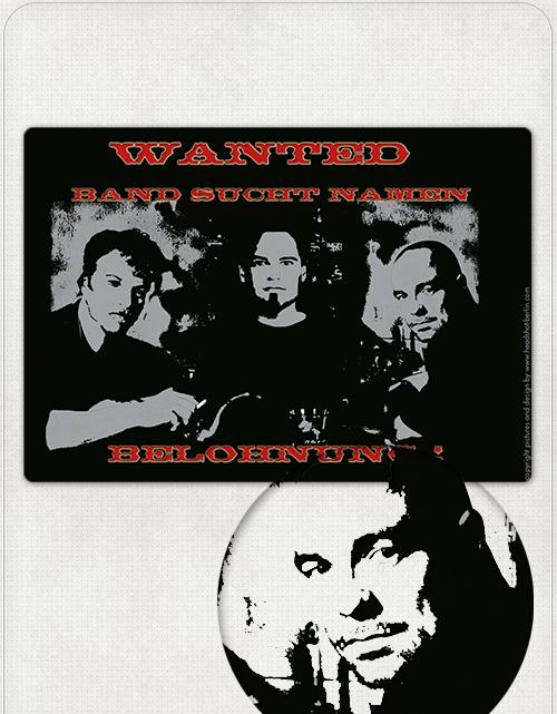Vorderseite Aktions-Postkarte mit Band-Fotoaufnahme