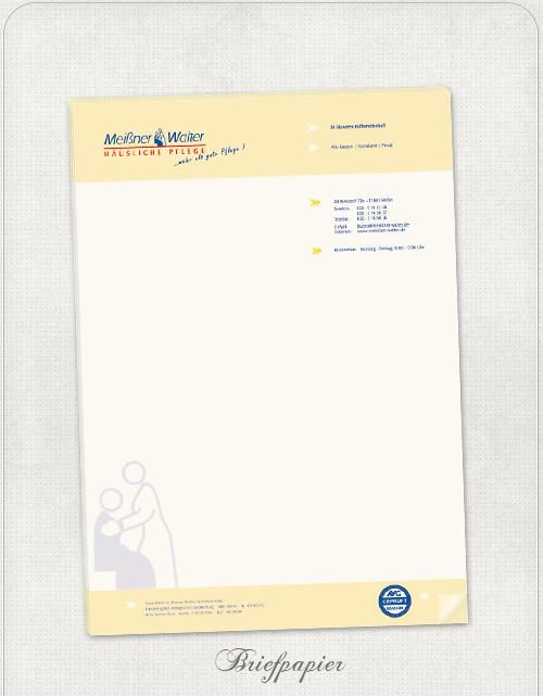 Briefpapier-Design