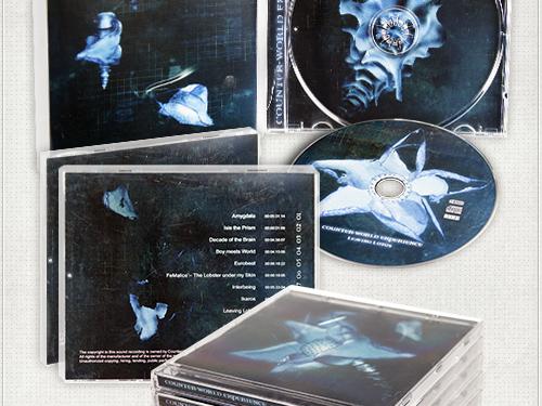 grafische Gestaltung der CD, des Booklets, des CD-Covers und der Rückseite für die Band CWE