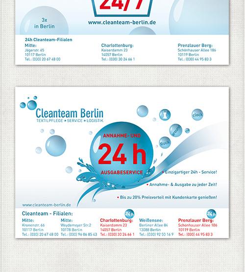 Entwürfe für die U-Bahn Großflächen-Plakate mit Wasser und Seifenblasen