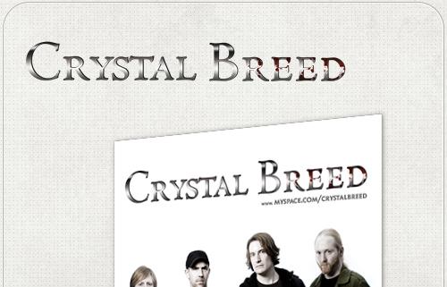 Plakat für Band