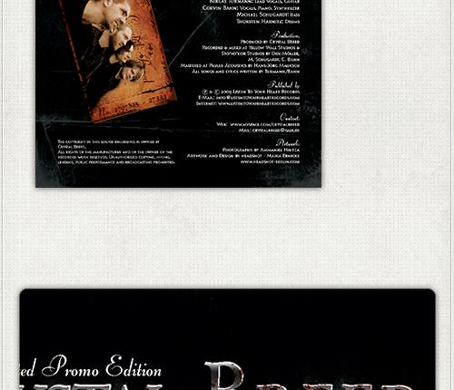 Rückseite der Promo-CD