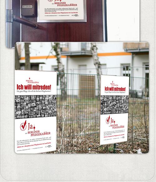 U-Bahn Seitenflächen von Ströer mit unseren Plakaten und große Plakate auf Aussenflächen in Berlin