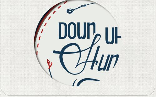 Detail des Logos mit Gitarrenseite