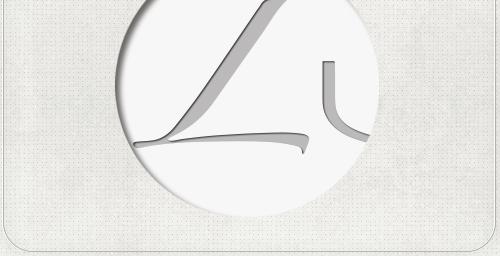 Detail des Schriftzug-Designs