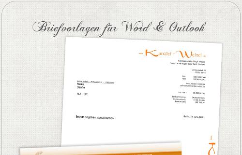 Headshot Berlin Geschäftsunterlagen Kanzlei Welzel