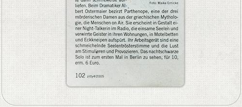 Foto im Berliner Magazin Zitty