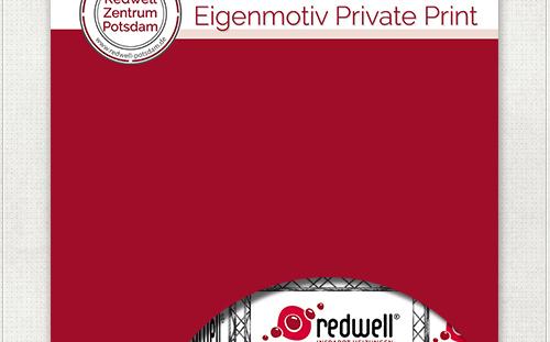 Banner - Design für Redwell Zentrum Potsdam im Redwell-Rot