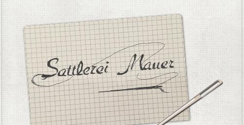 Entwurf auf Papier für das Logo