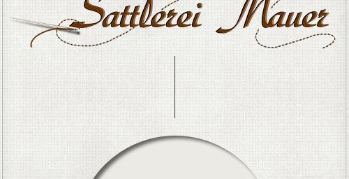 fertiges Logo mit Nadel und Faden passend zum Gesamtdesign