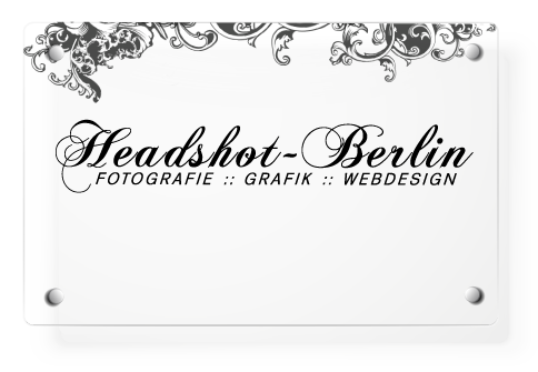 Headshot-Berlin Schild