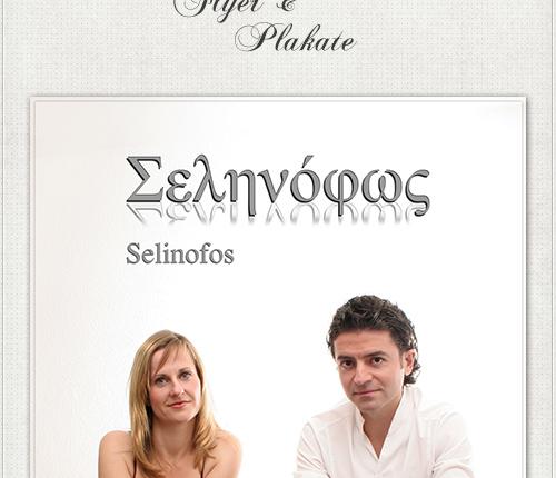 Gestaltung des Plakates für Selinofos durch Headshot-Berlin