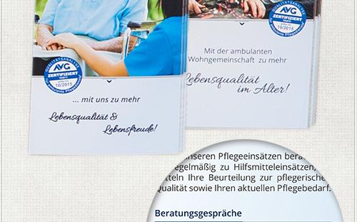 Fotografie, Bildbearbeitung und Design für zwei Flyer
