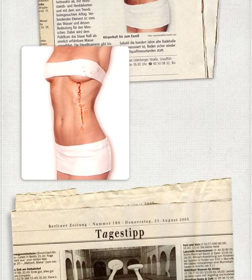 Promo-Fotos für Zeitungen