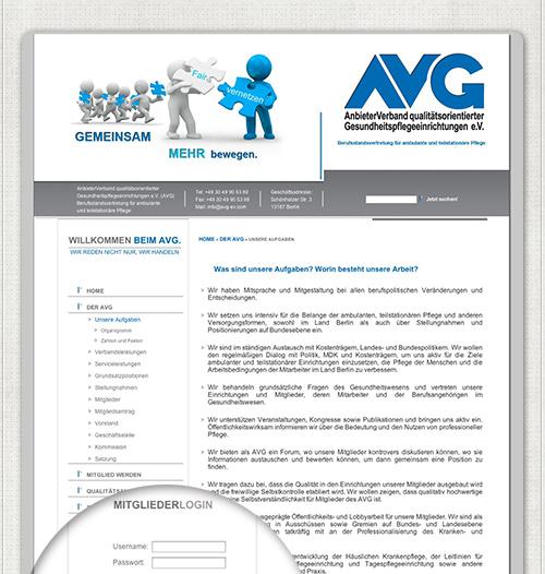 AVG Homepage