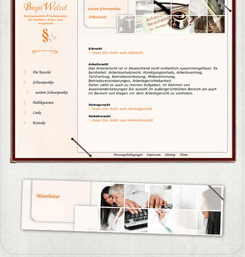 Seite Schwerpunkte und Bilder