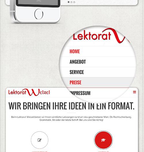 Navigation im Webdesign für iPad und iPhone