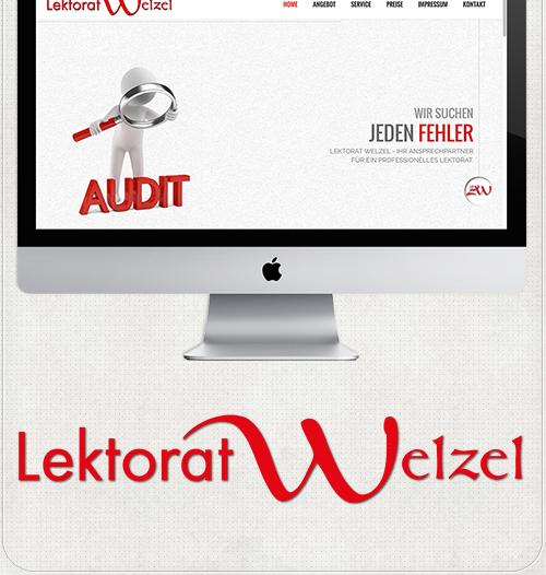Bildbearbeitung und Logotype für Lektorat Welzel