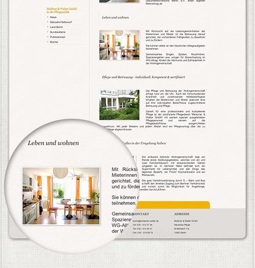 Designelemente und Bilder