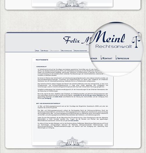 Webdesign im CMS
