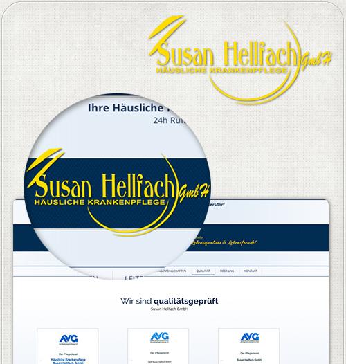 Logo im Kopfbereich der Webseiten