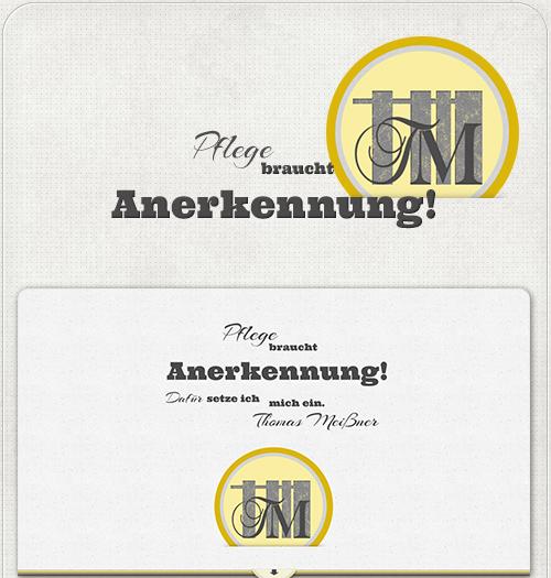 Logo und besondere Schriftarten für Einleitung