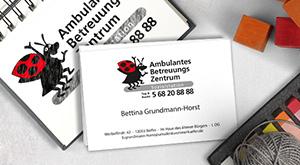 Re-Design von Visitenkarten