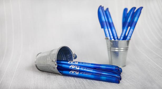 individuelle Werbeartikel für den AVG