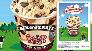 Anzeige mit Ice Cream von Lekkerland