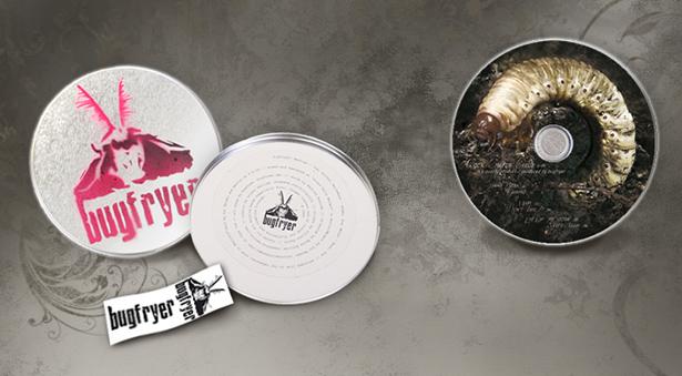Mini-Album und CD für Band Bugfryer