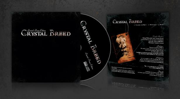 Promotion CD für Band Crystal Bred