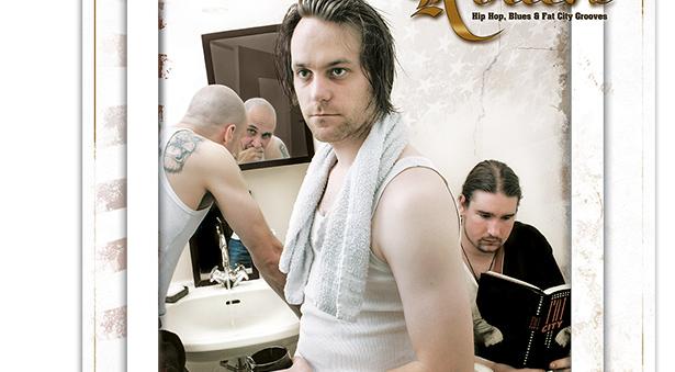 Bandfotos von Fat City Rollers für Plakate