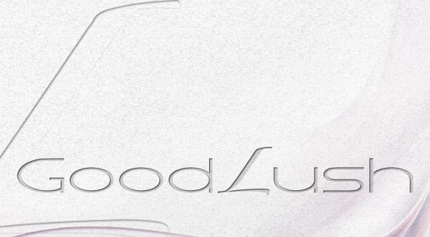 Schriftzug Good Lush