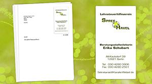 Logo für Briefpapier Lohnsteuerhilfeverein