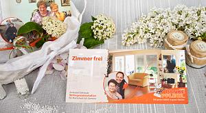 Design von DIN lang Postkarten für Panke Pflege GmbH
