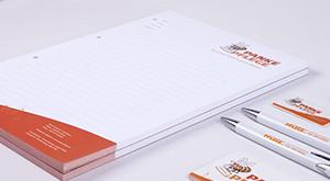 Schreibblock individuell gestaltet