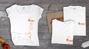 Gestaltung der Mitarbeiter T-Shirts ansehen