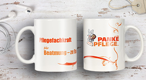 Tassen Design im Panke-Pflege-Look