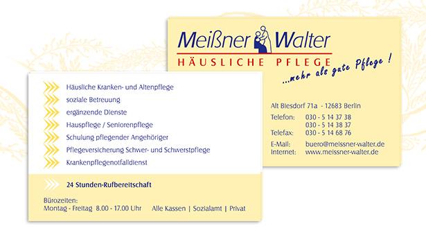 Headshot Berlin Visitenkarten Meißner Walter