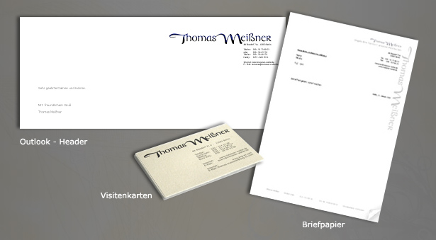 Headshot Berlin Briefpapier Outlook Header