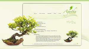 Website Agahta Pflegedienst