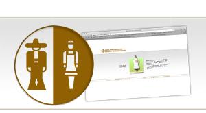 Logo und Seite Berufskleidung