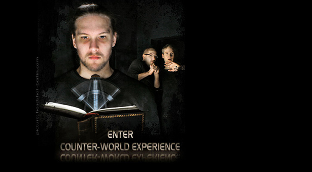 Band-Website Counter-World Experience
