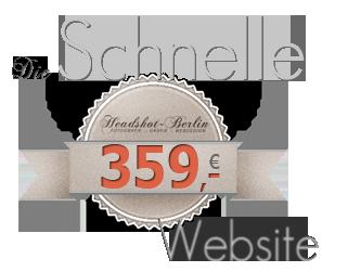 Logo mit 359,- Euro und schnelle Website