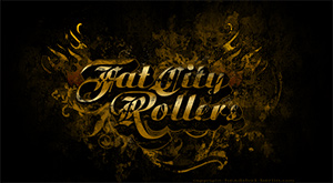 Bandlogo für Fat City Rollers bei Myspace