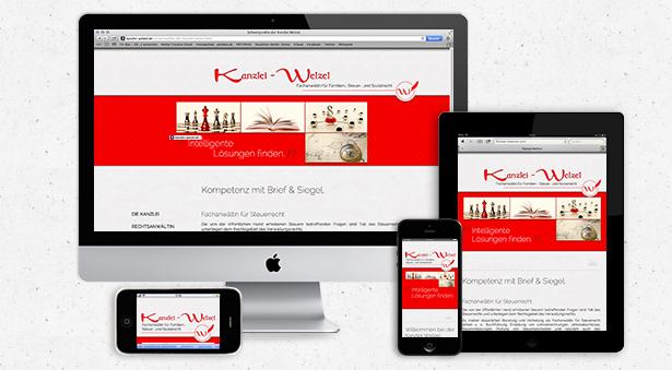 optimiert für Tablets, Mobile Anwendungen und Desktop-Bildschirme