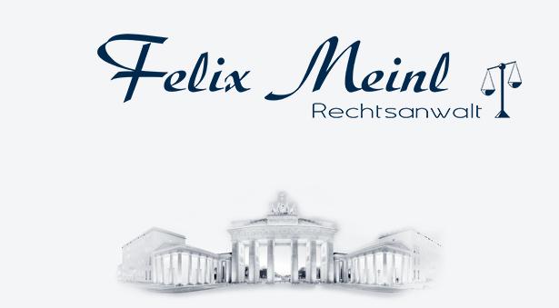 Logotype Rechtsanwalt Meinl